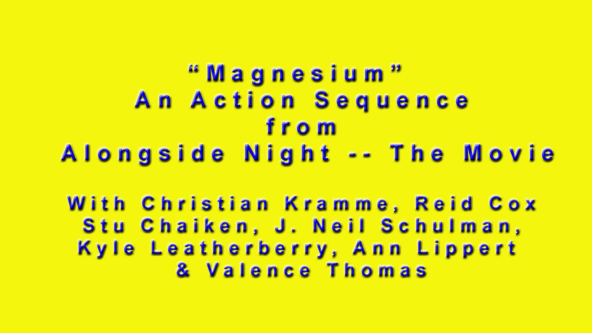 Magnesium Card